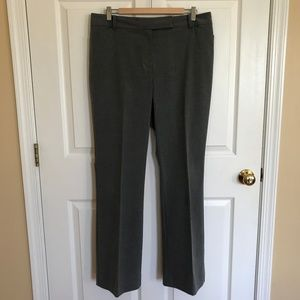 Ann Taylor Curvy Gray Trousers